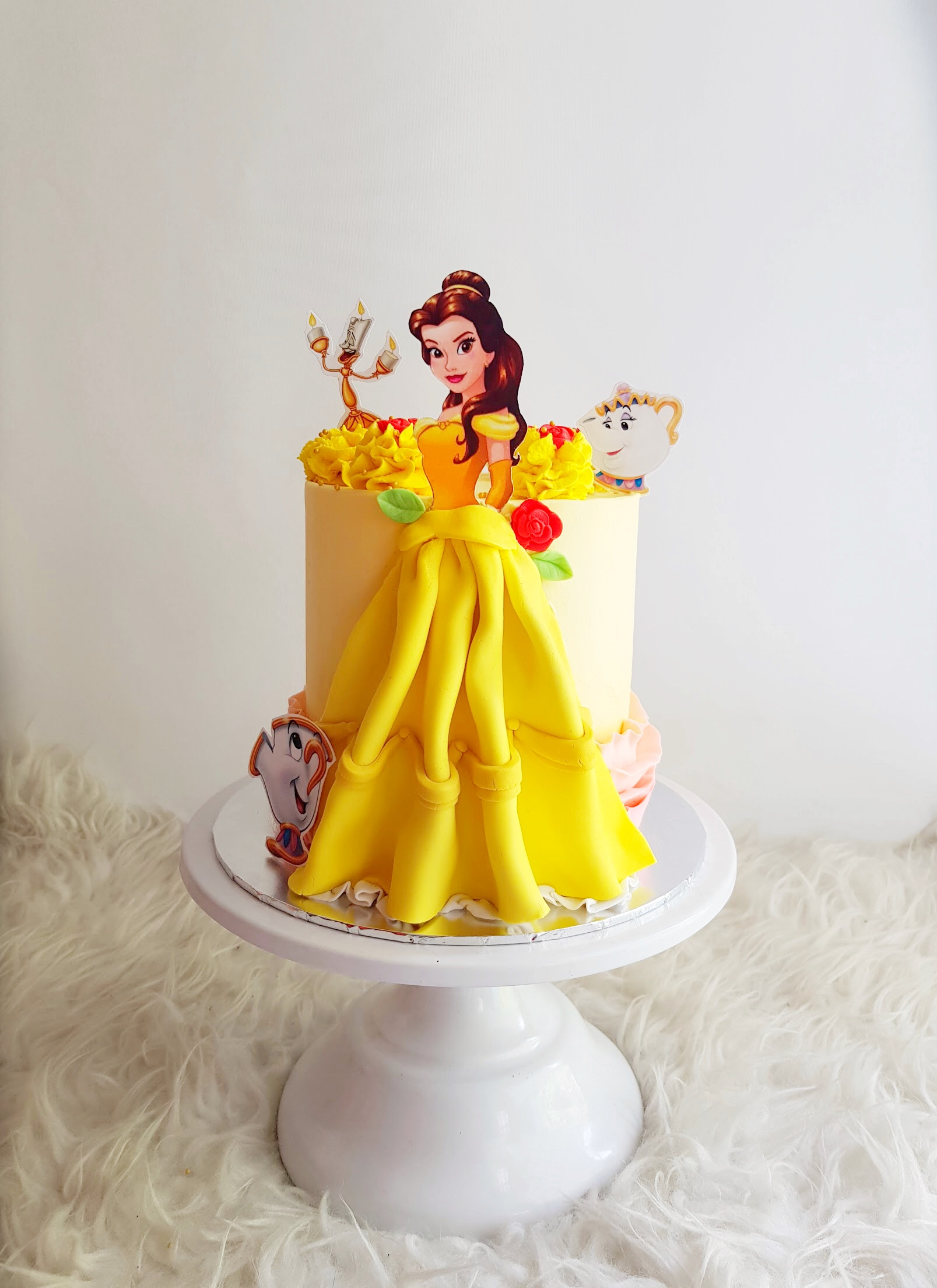 Swell Princess Belle Kekco Personalised Birthday Cards Paralily Jamesorg